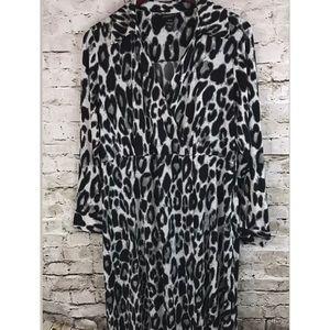 Lane Bryant Animal Print Dress